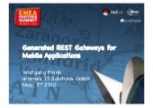 Generated REST Gateways for Mobile ...