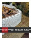 Redi-Rock Installation Manual - Eagle West Precast