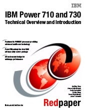 IBM Power 710 and 730 Technical Ove...