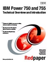 IBM Power 750 and 755 Technical Ove...