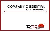 Red Tree Credential - 2013