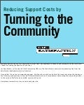 Reducing Support Costs by Turning to the Community (PDF)