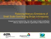 Reducing Mercury Emmisions  In Amaz...