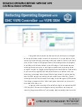 Reducing Operating Expense with EMC ViPR Controller and ViPR SRM