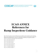 Reference annexes for_icao_ramp_inspections_guidance_2009_07_02