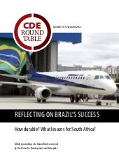 Reflecting on brazil's success how ...