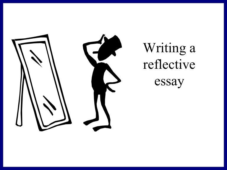 Reflective essay classes