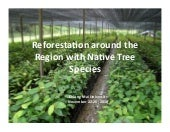 CHIANG MAI COURSE - Reforestation a...