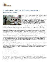 Reforma educativa de epn