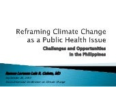 Reframing Climate Change as a Publi...