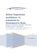 Refuser l-oppression-quotidienne-la-prevention-du-harcelement-al-ecole 174645