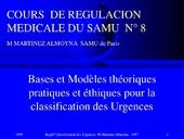Reg8a f classification des urgences...