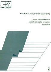 Regional Accounts Methods: Gross va...