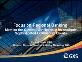 Focus on Regional Banking: Meeting ...