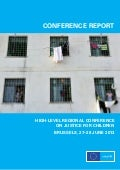 Final report - Regional conference Justice for children 2013