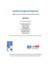 Regional Integration Report - 2011 ...