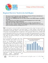 Regional overview: Youth in the Ara...