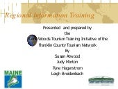 Franklin County Tourism 2011- 1