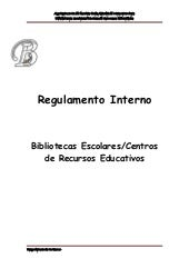 Regulamento interno 2009/2010