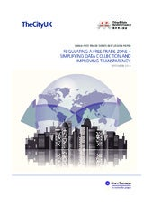 China Free Trade Zones discussion paper: Regulating a Free Trade Zone – Simplifying data collection and improving transparency