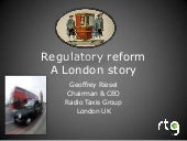 Regulatory reform   london story au...