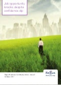 Regus Business Confidence Index - Issue 5 - October 2011