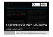 The Online-Life of Media Art-Archives