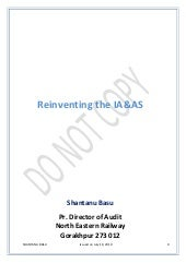 Reinventing the Indian Audit & Acco...