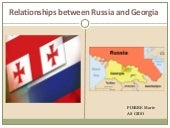 Relationship between Russia and Geo...