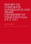 Telecom Italia - Report on corporate governance and share ownership of Telecom Italia S.p.A. 2011