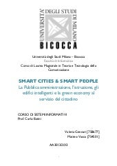 Smart City & Smart People - La Pubb...