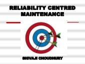 Reliability centred maintenance