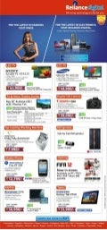Reliance Digital Special Offers For November, 2011