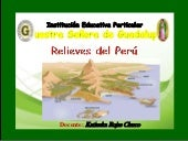 Relieves dep perú