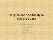 Religion and spirituality in pallia...