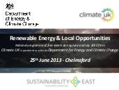 Renewable Energy and Local Opportun...