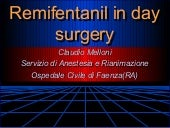 Remif in day surg napoli 2001