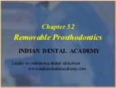 Removable prosthodontics /certified...