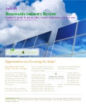 Renewable Energy Industry Review Al...