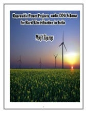 Renewable Energy  Power Projects fo...