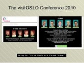 OsloBG at the visitOSLO Conference ...