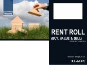 Rent roll -  buy, value and sell - v3