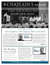 Chaplain's Report: That the World m...