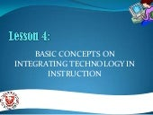 Basic Concept on Technology Integra...