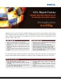 HCLT Brochure: Report factory