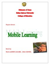 Report  mobile learnin