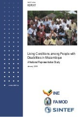 Report Mozambique Disability