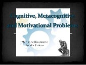 Metacognition in Persons with Learn...