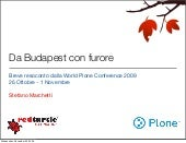 Breve resoconto dalla World Plone C...