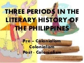 Literary History of the Philippines...